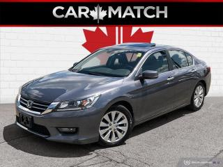 Used 2014 Honda Accord EX-L / LEATHER / SUNROOF / 142,263 KM for sale in Cambridge, ON