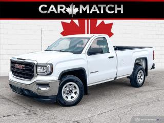 Used 2018 GMC Sierra 1500 REGULAR CAB / NO ACCIDENTS for sale in Cambridge, ON