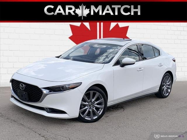 2019 Mazda MAZDA3 GT / AWD / LEATHER / NO ACCIDENTS
