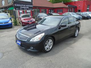 Used 2010 Infiniti G37 G37X / AWD / LEATHER / ROOF / REAR CAM / MINT/ A/C for sale in Scarborough, ON