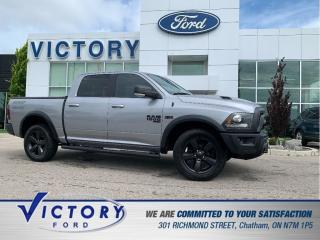 Used 2019 RAM 1500 Classic SLT Warlock | 4X4 | NAV | REVERSE CAMERA for sale in Chatham, ON