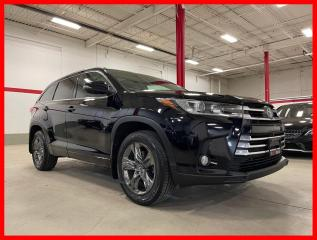 Used 2018 Toyota Highlander LIMITED V6 AWD NAVIGATION DVD PANORAMIC JBL SOUND CERTIFIED! for sale in Vaughan, ON
