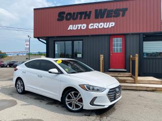 Used 2017 Hyundai Elantra Limited Htd Lthr Seats Nav BackUp Sunroof Alloys for sale in London, ON