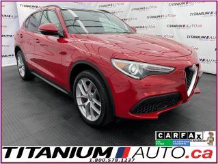 Used 2018 Alfa Romeo Stelvio Ti Sport+Driver Assist PKG 2+GPS+Pano Roof+Harman for sale in London, ON