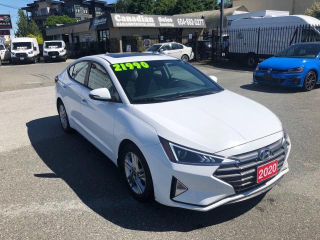 2020 Hyundai Elantra Preferred w/Sun & Safety Package 2.0L 147HP CVT