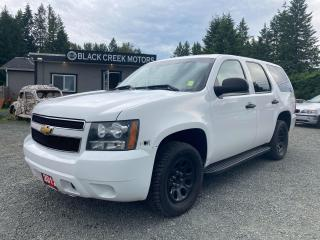 Used 2012 Chevrolet Tahoe Police Vehicle for sale in Black Creek, BC