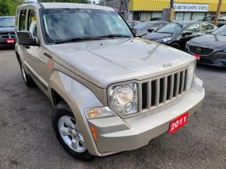Used 2011 Jeep Liberty Sport/4WD/AUTO/LOADED/ALLOYS/CLEAN CAR FAX for sale in Scarborough, ON