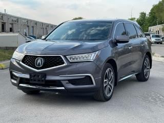 Used 2017 Acura MDX Navigation /Sunroof /Camera /Blind Spot for sale in North York, ON