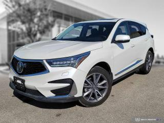 Used 2019 Acura RDX Elite Accident Free! Low Mileage! Almost New! for sale in Winnipeg, MB