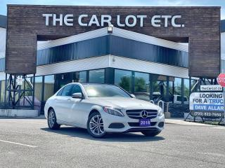 Used 2018 Mercedes-Benz C-Class LEATHER!! SUNROOF!! NAVIGATION!! BACK-UP CAM!! for sale in Sudbury, ON
