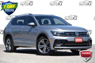 Used 2020 Volkswagen Tiguan Highline R-LINE PACKAGE   PREMIUM AUDIO for sale in Kitchener, ON