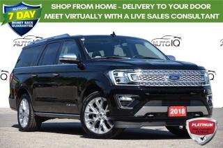 Used 2018 Ford Expedition Max Platinum 7 PASSENGER   LOCALLY OWNED for sale in Kitchener, ON