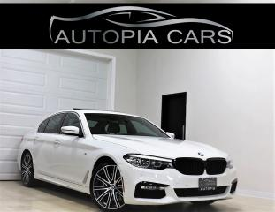 Used 2017 BMW 5 Series M 540i xDrive HEADS UP DISPLAY NAVI REAR VIW CAM for sale in North York, ON