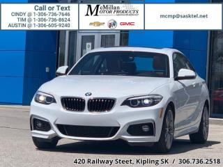 Used 2018 BMW 2 Series 230i xDrive Coupe   AWD,LEATHER SEATS,REAR VIEW CA for sale in Kipling, SK