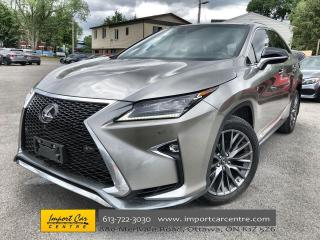 Used 2019 Lexus RX 350 F3  PANO ROOF  NAVI  HUD  MARK LEVINSON SOUND for sale in Ottawa, ON