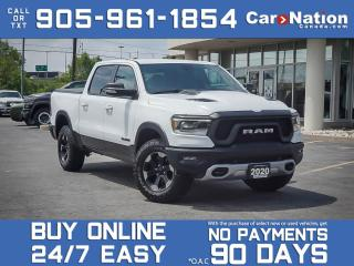 Used 2020 RAM 1500 Rebel 4x4| COMPANY DEMO| LEVEL 2 EQUIPMENT GROUP| for sale in Burlington, ON