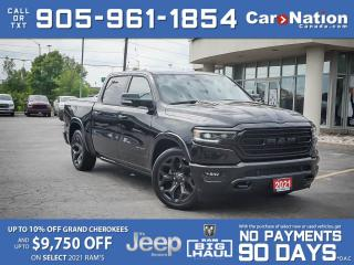 Used 2021 RAM 1500 Limited Night Edition 4x4| COMPANY DEMO|PANO ROOF| for sale in Burlington, ON