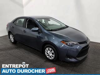 Used 2017 Toyota Corolla CE - Économique - Bluetooth for sale in Laval, QC
