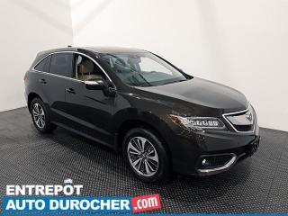 Used 2017 Acura RDX Elite- AWD - Navigation - Toit Ouvrant  - Cuir for sale in Laval, QC
