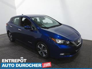 Used 2018 Nissan Leaf SL - Navigation - Bluetooth - Climatiseur - Cuir for sale in Laval, QC
