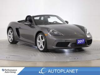 Used 2017 Porsche Boxster 718 Convertible, Navi, Cooled Seats, Sports Mode! for sale in Brampton, ON