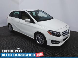 Used 2016 Mercedes-Benz B-Class B 250 Sports Tourer- AWD- Bluetooth - Climatiseur for sale in Laval, QC