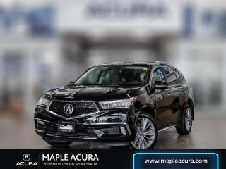 Used 2018 Acura MDX Elite Package for sale in Maple, ON