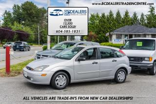 Used 2004 Ford Focus 5dr Hatchback ZX5, Local, No Declarations, 5-Speed Manual for sale in Surrey, BC