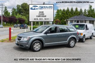 Used 2010 Dodge Journey SE, Local BC, Bluetooth, CD Stacker, Power Group, Clean! for sale in Surrey, BC