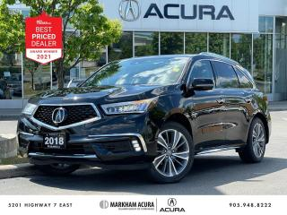 Used 2018 Acura MDX Elite for sale in Markham, ON