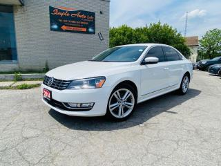 Used 2014 Volkswagen Passat 4dr Sdn 2.0 TDI Highline for sale in Barrie, ON