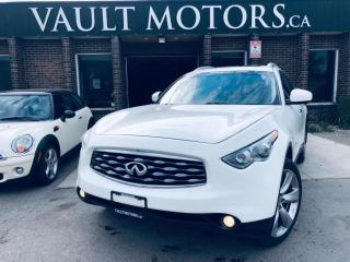 Used 2010 Infiniti FX50 AWD 4dr, LEATGER, NO ACCIDENTS for sale in Brampton, ON