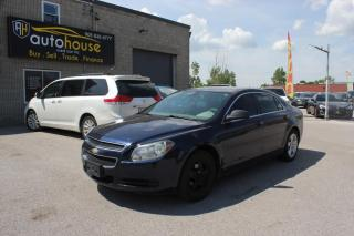 Used 2010 Chevrolet Malibu LS/ACCIDENT FREE/BLUETOOTH/TRACTION CONTROL/AS IS for sale in Newmarket, ON