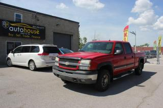 Used 2005 Chevrolet Silverado 1500 4WD/V8/CREW CAB/1500/LEATHER INTERIOR/AS IS for sale in Newmarket, ON