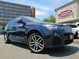 Used 2017 BMW X3 M SPORTS PKG   CLEAN CARFAX   NAVI   CAM   PANO   for sale in Scarborough, ON