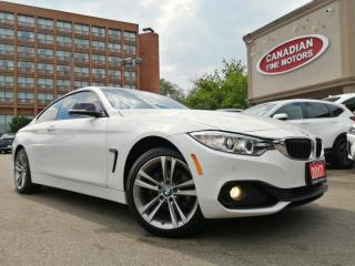Used 2017 BMW 430i xDrive COUPE   NAVI   BACK UP CAM   SUNROOF   XDRIVE   for sale in Scarborough, ON