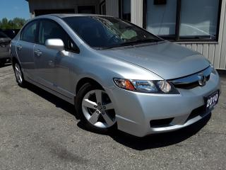 Used 2010 Honda Civic SPORT - ALLOYS! SUNROOF! CERTIFIED! for sale in Kitchener, ON
