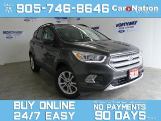 Used 2018 Ford Escape SEL | LEATHER | NAV | 1 OWNER | NEW CAR TRADE for sale in Brantford, ON