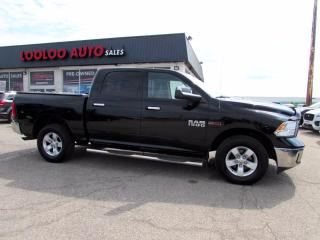 Used 2014 RAM 1500 SLT Crew Cab 4WD Eco Diesel No Accident Camera Certified for sale in Milton, ON