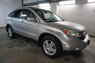 Used 2010 Honda CR-V EX 4WD CERTIFIED 2YR WARRANTY *1 OWNER* SUNROOF CRUISE ALLOYS HITCH ROOF RACK for sale in Milton, ON