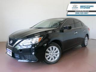 Used 2019 Nissan Sentra BACK UP CAM | BLUETOOTH | HTD SEATS  - $98 B/W for sale in Brantford, ON