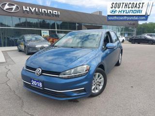 Used 2018 Volkswagen Golf Trendline 5-door  - Aluminum Wheels - $112 B/W for sale in Simcoe, ON