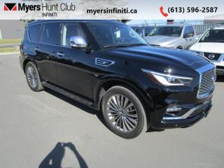 Used 2019 Infiniti QX80 7-Passenger ProACTIVE  - Navigation for sale in Ottawa, ON