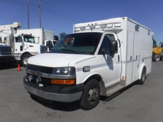Used 2014 Chevrolet Express G3500 Ex Ambulance 10 Foot Cube Van for sale in Burnaby, BC