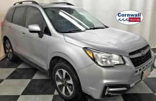 Used 2017 Subaru Forester 2.5i Limited - Clean CarFax for sale in Cornwall, ON