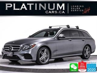 Used 2017 Mercedes-Benz E-Class E400 4MATIC, WAGON, 5+2 PASS, AWD, NAV, CAM, PANO for sale in Toronto, ON