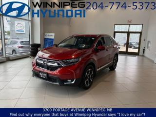 Used 2018 Honda CR-V Touring for sale in Winnipeg, MB