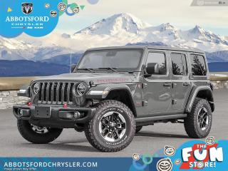 New 2021 Jeep Wrangler Rubicon  - Leather Seats - Safety Group - $498 B/W for sale in Abbotsford, BC