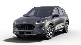 New 2021 Ford Escape Titanium Hybrid for sale in Mississauga, ON