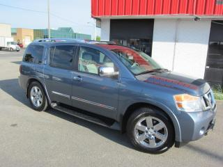 Used 2010 Nissan Armada Platinum Edtion $14,995+HST+LIC FEE / ALL WHEEL DRIVE / CERTIFIED / 8 PASSENGER for sale in North York, ON